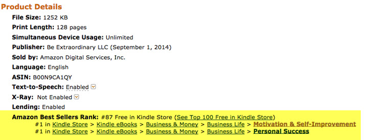 Social Wealth Amazon Kindle Stats 2